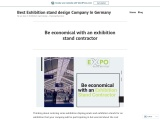 Be economical with an exhibition stand contractor