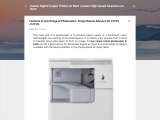 Features of new Range of Photocopier | Image Runner Advance Dx C3725 /C3725i