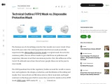 FFP2 Mask vs. Disposable Protective Mask