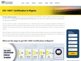 What is ISO 14001 Certification in Nigeria?