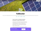 Solar Inverters Are Readily Available Nowadays Through Online Portals