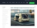 Sedric -Volkswagen Concept of Autonomous Future Car