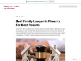 Best Family Lawyer In Phoenix For Best Results