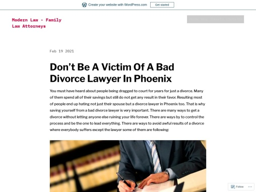 Don't Be A Victim Of A Bad Divorce Lawyer In Phoenix