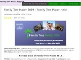 Family Tree Maker 2019 | FTM 2019 Family Guide