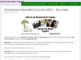RootsTech Connect 2021 & FamilySearch