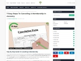 7 Easy Steps To Canceling A Membership In Ancestry