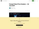 Fanspel Token Price Analysis — 1st June 2021