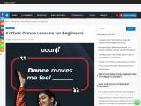 Kathak Dance Lessons for Beginners