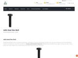Mild Steel Hex Bolts Manufacturers in India