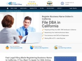 File Doing Business As in California, USA