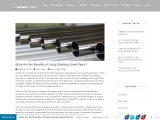Feedly –What Are The Benefits Of Using Stainless Steel Pipes?