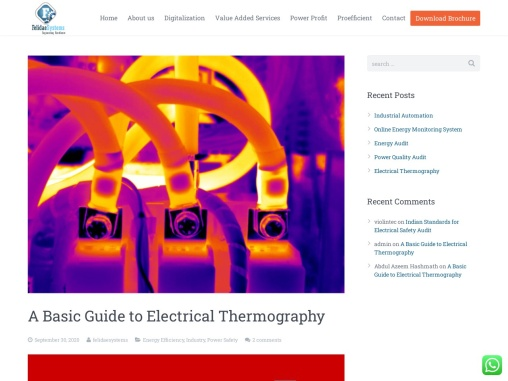 A Basic Guide to Electrical Thermography | Felidae Systems