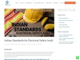 Indian Standards for Electrical Safety Audit