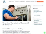 Understand Your Industrial/Commercial Electricity Bill | Felidae Systems