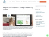 Why the Industry needs Energy Monitoring System | Felidae Systems
