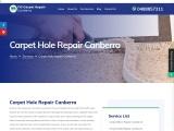 Effective Carpet Hole Repair in Canberra – Fill Carpet Repair Canberra