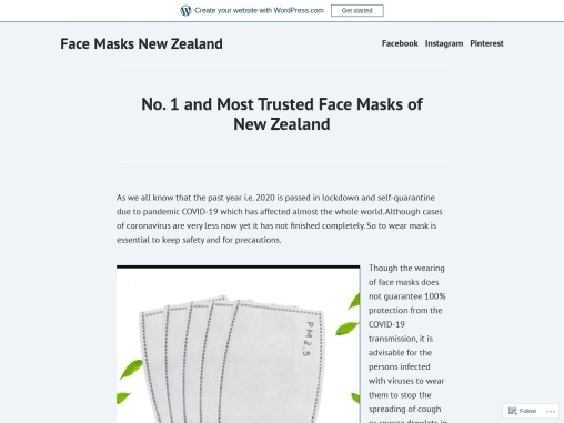 Most Trusted Face Masks of New Zealand