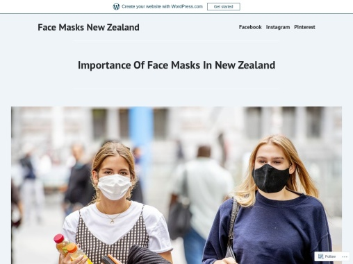 Importance Of Facemasks In New Zealand