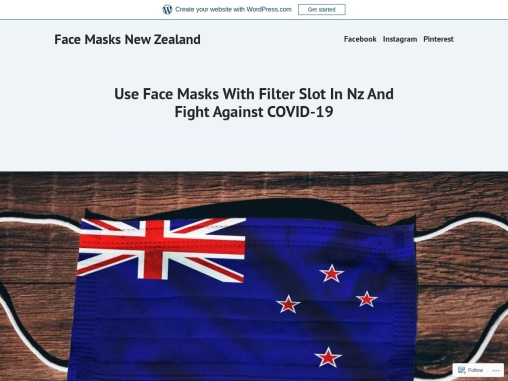 Use Face Masks With Filter Slot In Nz And Fight Against COVID-19