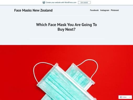 Which Face Mask You Are Going To Buy Next?