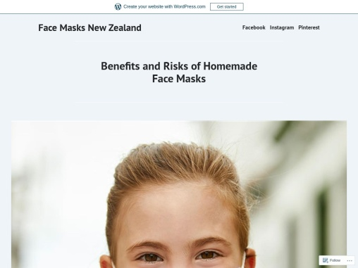 Benefits and Risks of Homemade Face Masks