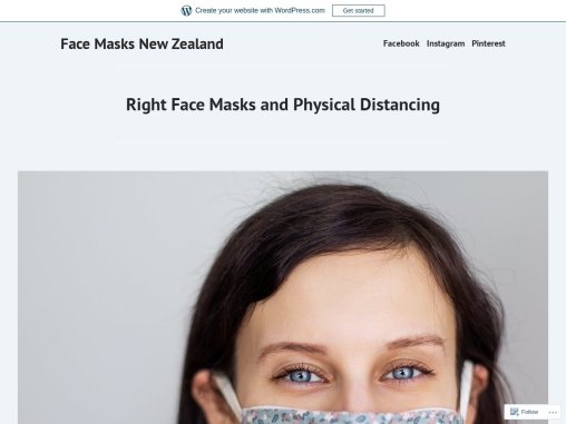 Right Face Masks and Physical Distancing