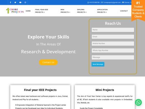 2021 2022 Matlab Projects Chennai