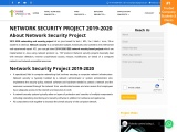 2021 2022 Network and Security Projects Chennai