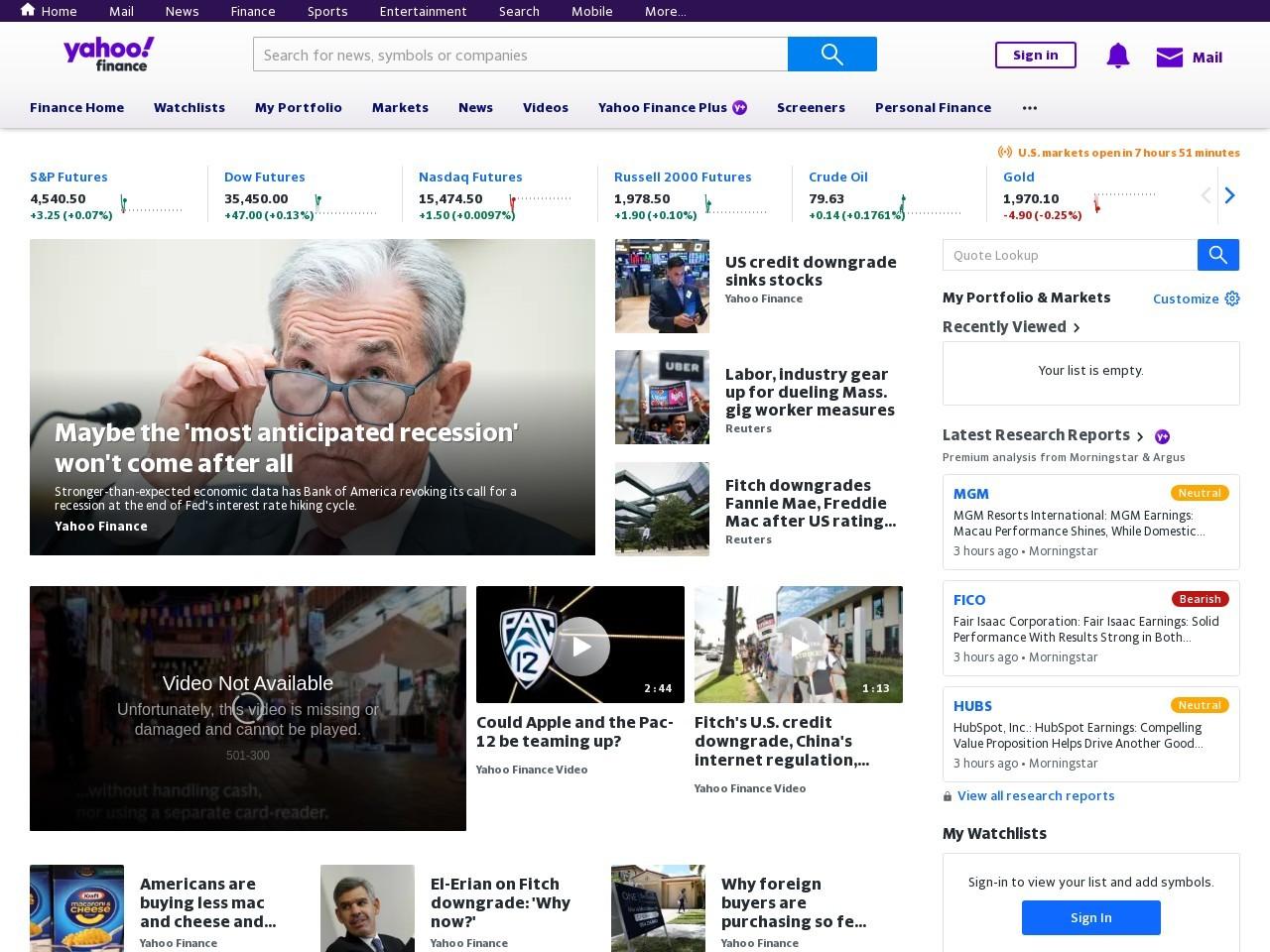 IMF Sees Risk of 'Sizable' Selloffs in Stocks, Housing Market – Yahoo Finance