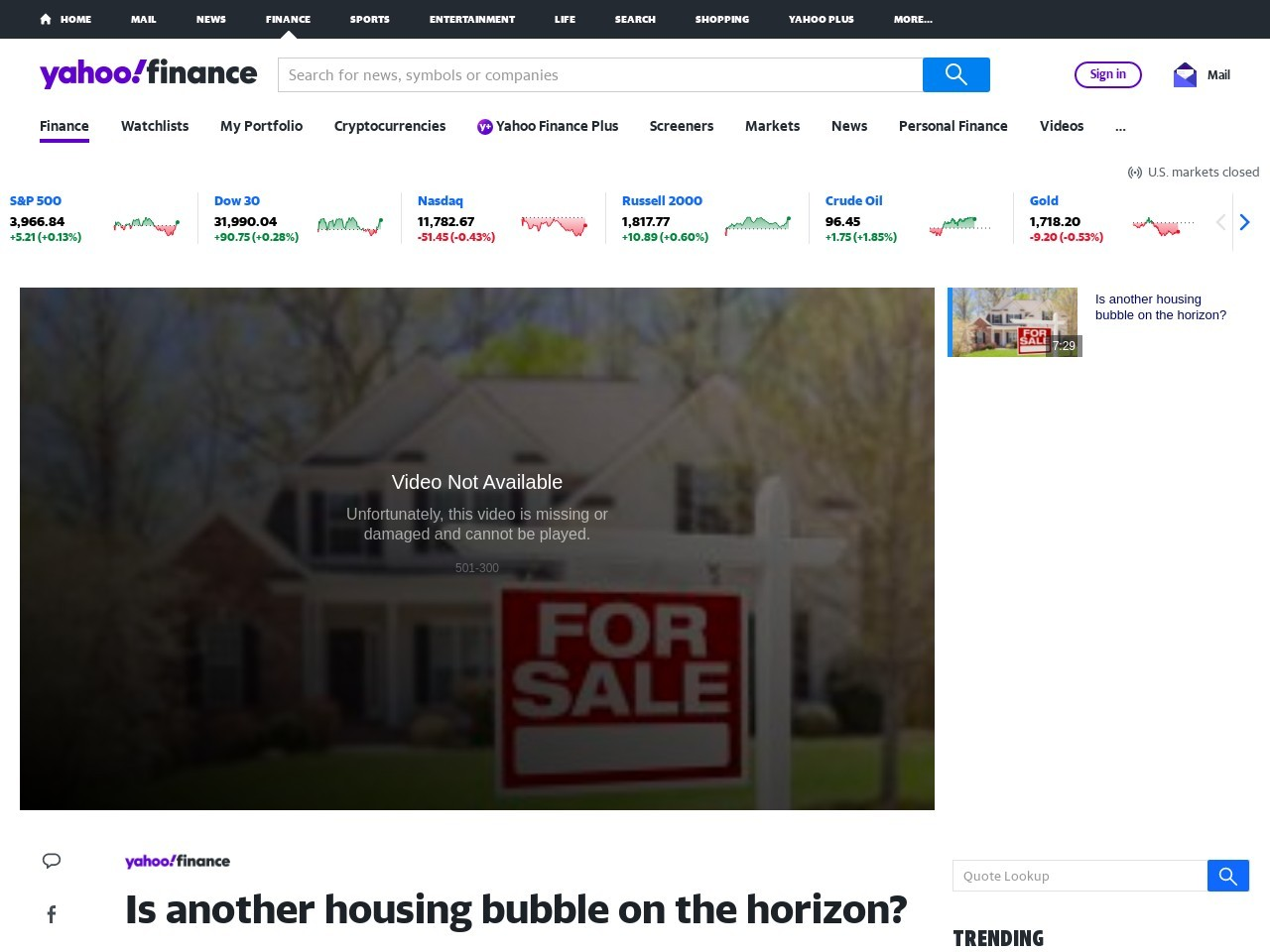 Is another housing bubble on the horizon? – Yahoo Finance