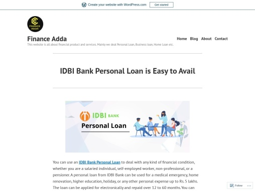 IDBI Bank Personal Loan is Easy to Avail