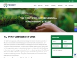 ISO 14001 Certification in Muscat