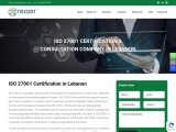 ISO 27001 Certification in Beirut