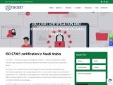 ISO 27001 Certification in Jeddah