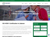 ISO 45001 Certification in Beirut