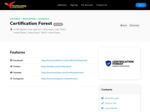 Certification Forest   Best Cyber Security And IT Certification Training & Exam