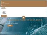 Auto-Glass-Repair broken glass fix, ceramic to metalized coloring, vehicle entryway fix