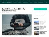 Best Fish Finders Under $200 in 2021