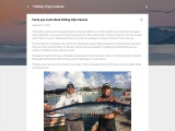 Facts you must about fishing trips Cancun
