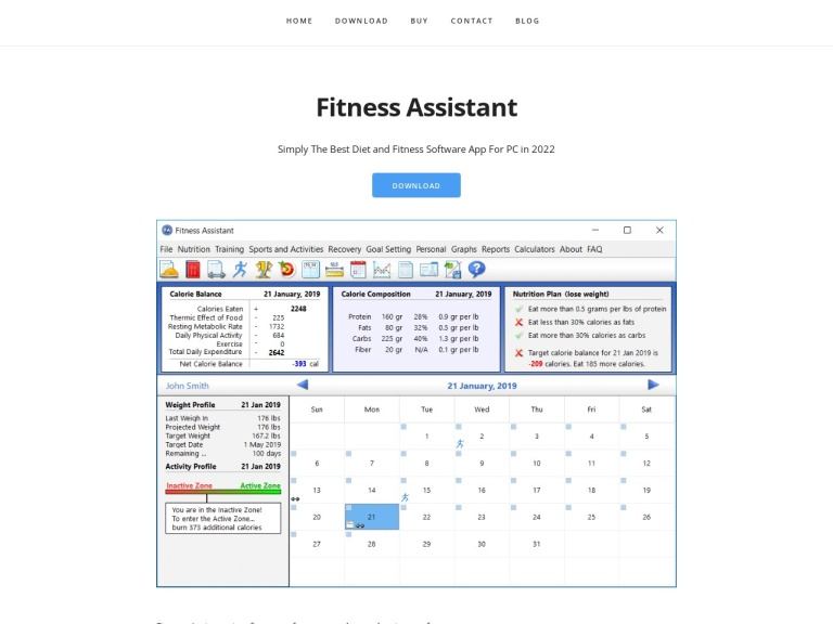 Fitness Assistant Coupons screenshot