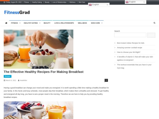 The Effective Healthy Recipes For Making Breakfast
