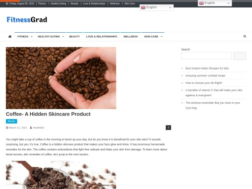 Coffee- A Hidden Skincare Product
