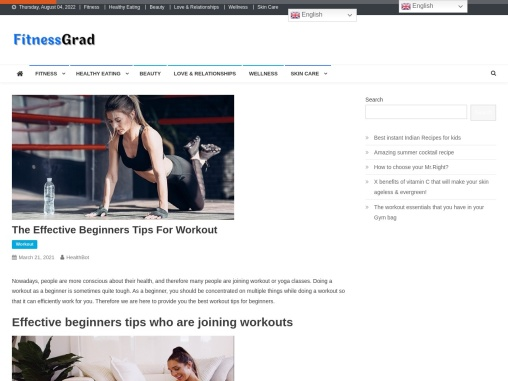 The Effective Beginners Tips For Workout