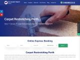 Book Expert for Carpet Restretching in Perth – Fix Carpet Repair Perth