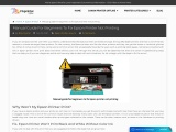 Manual Guide For Beginners To Fix Epson Printer Not Printing