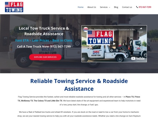 towing  plano   flagtowing   plano towing