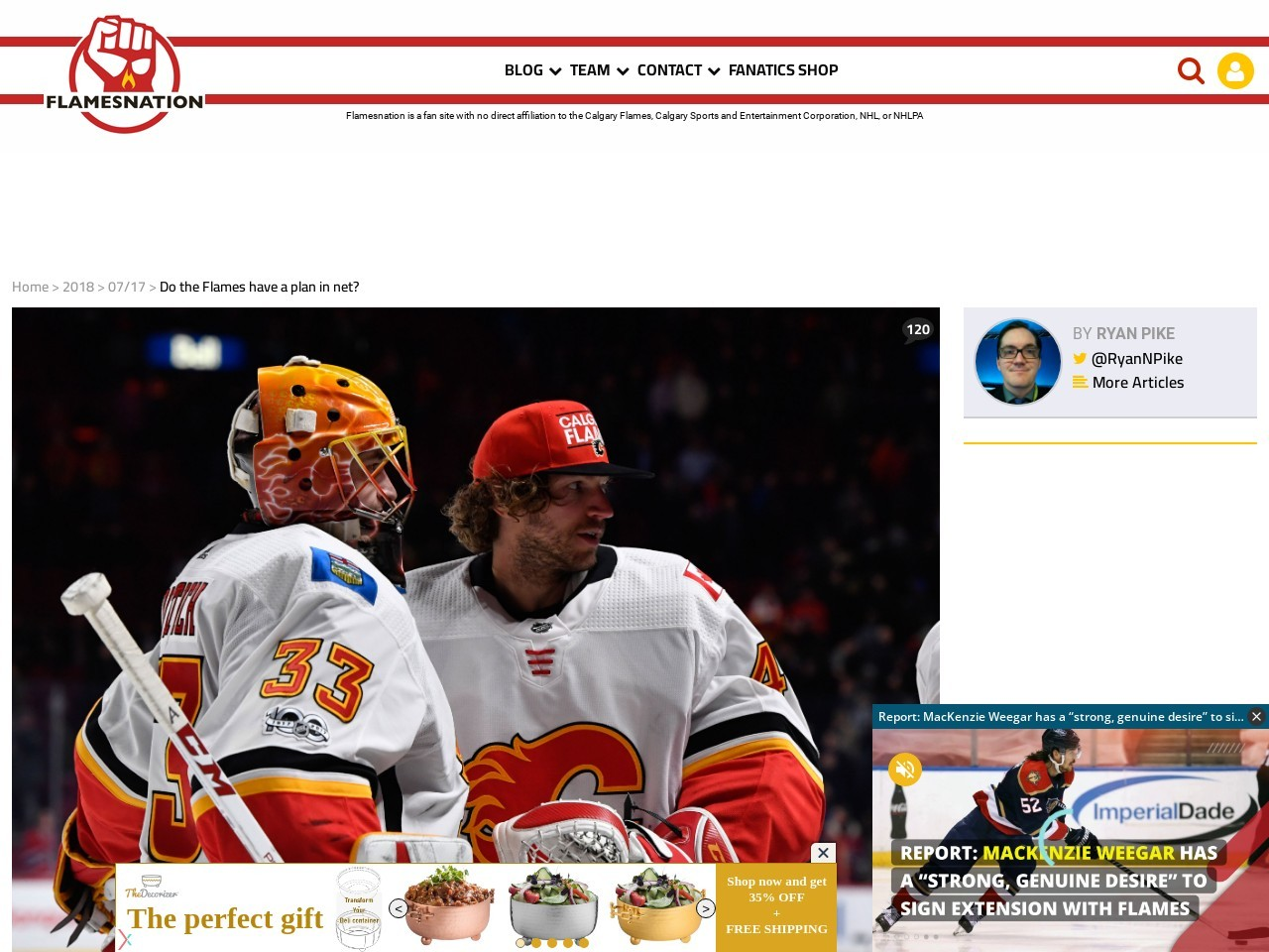 Do the Flames have a plan in internet? – Flamesnation