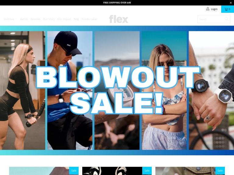 Flex Watches screenshot