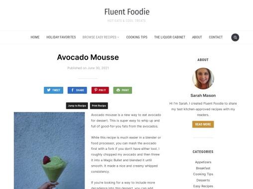 How to Make Avocado Mousse Recipe